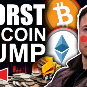 ⚠️ALERT🚨 Elon Musk Worst Bitcoin Dump (Inflation Realized)