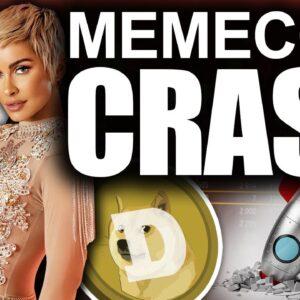 BIGGEST Memecoin CRASH (DOGE & SHIBA DEAD for 2021?)