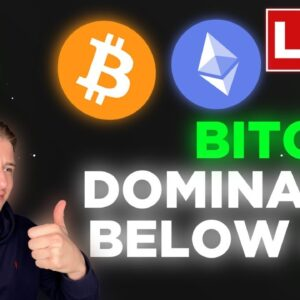 BITCOIN DOMINANCE KEEPS FALLING! XRP IS GOING FOR A MOONSHOT!!