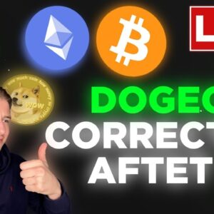 DOGECOIN CORRECTING AFTER SNL! ETH IS NOT STOPPING!! WHAT TO DO NOW?