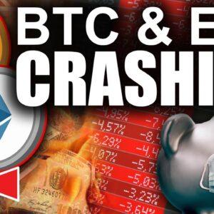EMERGENCY! Bitcoin & Ethereum Price Crashing (Worst Case Scenario)