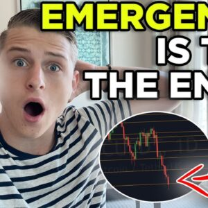 EMERGENCY BITCOIN UPDATE!!! INSANE CRASH!!! WHAT TO DO NOW?