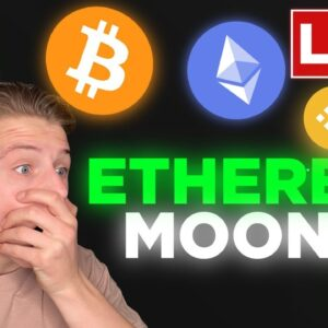 ETHEREUM FINDS RESISTANCE! BITCOIN SYMMETRICAL TRIANGLE!!