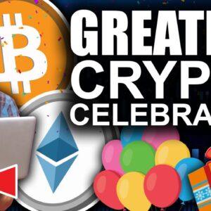 Greatest Crypto Celebration (DOGE On Coinbase, CARDANO All Time High)