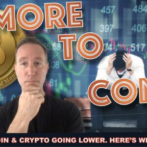 LIVE: BITCOIN AND CRYPTO MARKET GOING DOWN. WHY I'M CALM.