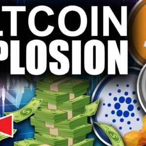 Bitcoin Surging, Whales Scoop $5.5 Billion (Ethereum, Cardano & Top Altcoins Exploding)