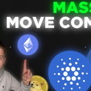 MASSIVE MOVES ARE COMING FOR CARDANO AND LITECOIN! BITCOIN IS ABOUT TO BREAK!!!