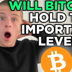 WILL BITCOIN HOLD THIS IMPORTANT LEVEL? BITCOIN & ETHEREUM LIVE PRICE TARGETS!!