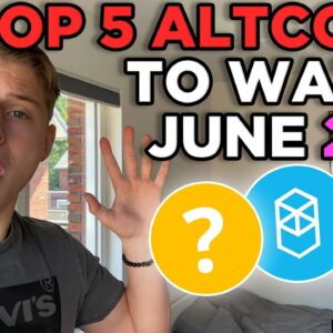 5 ALTCOINS to watch in June 2021!