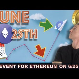 BE CAREFUL WITH ETHEREUM ON THIS DATE.