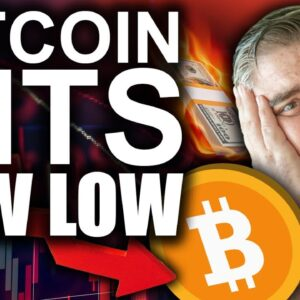Bitcoin Hits New Low (Top 3 Key Support Channels)