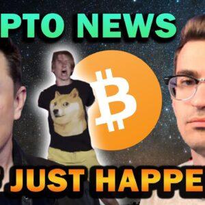 CRYPTO CHAOS AND HUGE NEWS