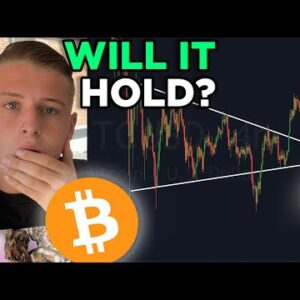 BITCOIN MUST HOLD THIS IMPORTANT LEVEL!!! BITCOIN PRICE PREDICTION & ONCHAIN DATA EXPLAINED!