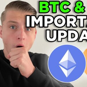 DON'T MISS ETHEREUM & BITCOIN RIGHT NOW!!!!!! [what to do now?]