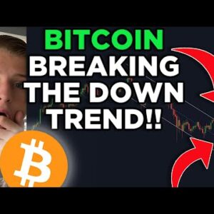 BITCOIN ABOUT TO BREAK THE DAILY DOWNTREND! DECISION TIME! BITCOIN PRICE PREDICTION & BITCOIN NEWS