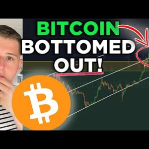THE BITCOIN BOTTOM IS IN. Don't Miss This Opportunity.