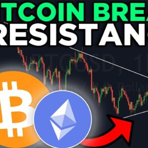 BITCOIN IS BREAKS THIS CRITICAL RESISTANCE LINE! BITCOIN PRICE PREDICTION 2021