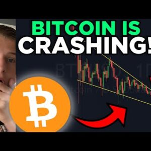 BITCOIN CRASHING!!? DON'T BE FOOLED! WATCH THIS PATTERN!!
