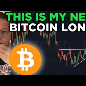 IMPORTANT! THIS IS MY NEXT BITCOIN LONG TRADE! NEW BITCOIN PRICE PREDICTION & BITCOIN PRICE ANALYSIS