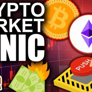 Crypto Market Panic (Bitcoin Price Below $30K)