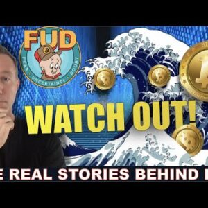 DON'T WORRY ABOUT THESE 4 CRYPTO FUD STORIES.