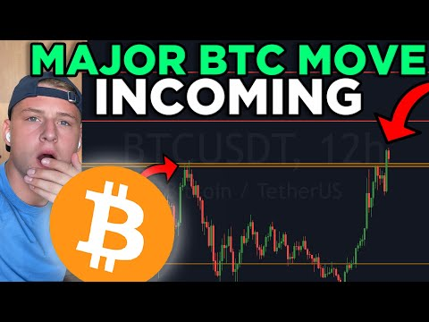 MAJOR BITCOIN MOVE INCOMING! THIS CHART REVEALS IT ALL!