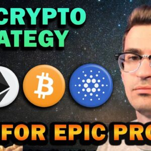 My Crypto Strategy for Huge Profits and Long-term Success!!