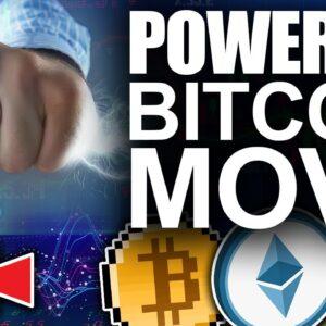 Powerful Bitcoin Move To The Upside (Top Key Bullish Indicator)
