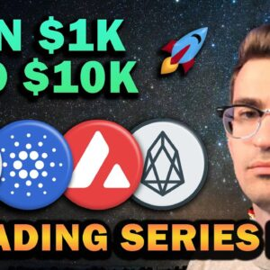 Altcoins I'm Buying!! $1k to $10k Trading Series Ep 6 🚀