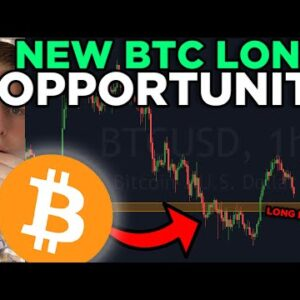BITCOIN NEW LONG OPPORTUNITY RIGHT NOW!!!!! BITCOIN PRICE ANALYSIS 2021
