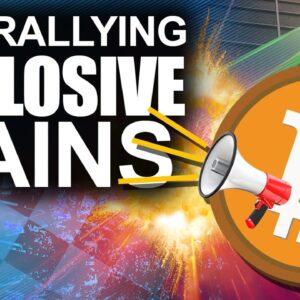 Bitcoin Rallying for EXPLOSIVE Gains. (BTC Targeting 56k)