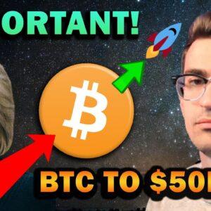 BITCOIN TO $50K? INFRASTRUCTURE BILL NEWS