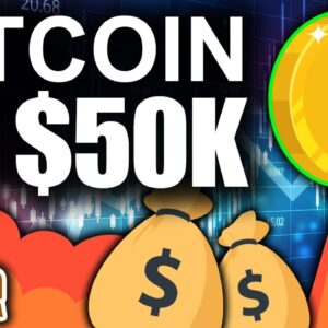 Bitcoin to $50k TODAY!!! (Best Sign for Crypto This Weekend)
