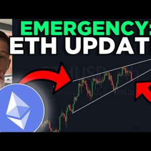 EMERGENCY: ETHEREUM RISING WEDGE ABOUT TO BREAK!! [watch RIGHT NOW]