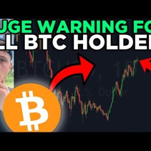 EXTREME WARNING!! I SOLD 20% OF MY PORTFOLIO!! [watch this ASAP]