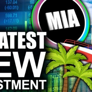 GREATEST New Investment In Bitcoin City? (BIG upside for MiamiCoin)