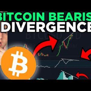 IMPORTANT! BITCOIN BEARISH DIVERGENCE!!! [don't be fooled]