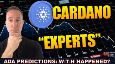 """LOOKING BACK AT CARDANO PRICE PREDICTIONS FROM """"THE EXPERTS"""". WERE THEY RIGHT?"""