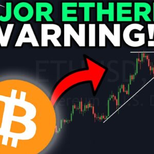 MAJOR ETHEREUM WARNING!! DUMP incoming?? [important technical analysis]