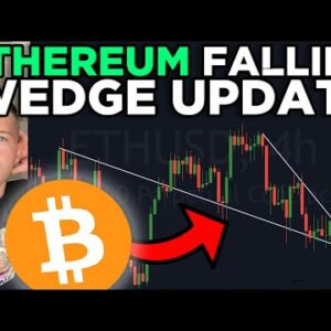 ETHEREUM IMPORTANT FALLING WEDGE BREAKOUT UPDATE! [don't miss out on this next move!]