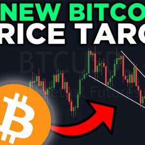 NEW BITCOIN PRICE TARGET REVEALED [falling wedge breakout]!!!