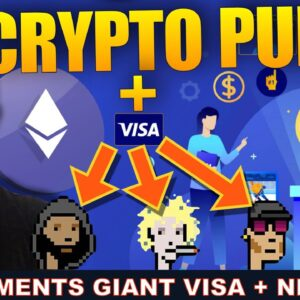 PAYMENTS GIANT VISA BUYING NFT'S. WHAT'S NEXT FOR CRYPTO?