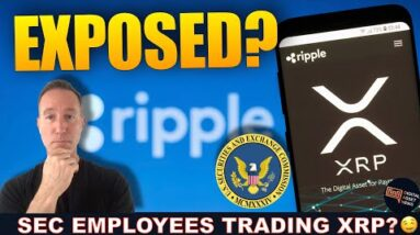 RIPPLE FILES MOTION TO EXPOSE SEC TRADING XRP. DUE IN 3 DAYS.
