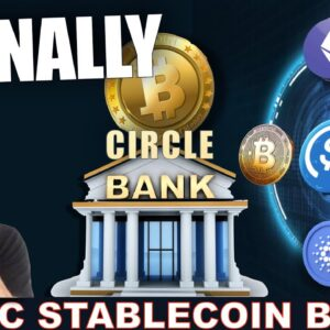 THE CIRCLE USDC NATIONAL CRYPTO BANK IS COMING. WATCH OUT!