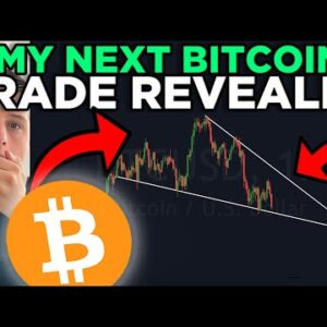 THIS IS MY NEXT BITCOIN TRADE!!!! [watch this falling wedge now]