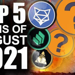 Top Coins of August