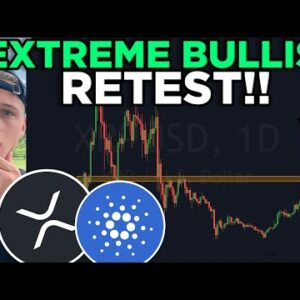 XRP & ADA BULLISH RETEST RIGHT NOW!!! Featuring Andy Bitcoinsensus