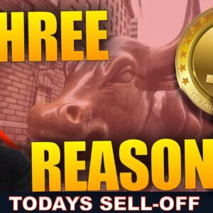 3 REASONS FOR THE CRYPTO MARKET SELL-OFF TODAY.