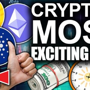 $50k Bitcoin $4000 Ethereum $3 Cardano! (Crypto's Most Exciting Time)