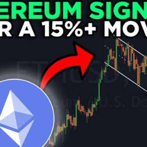 HUGE ETHEREUM GAIN STARTS NOW (must watch)!!! Ethereum INSANE Bull Flag + Cup & Handle Pattern